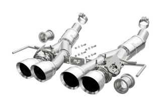 "14-19 LT1 & 17-19 GS w/Auto Magnaflow Valve-Back Competition Exhaust w/4.5"" Quad Tips"