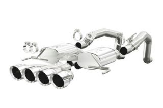 "14-18 Magnaflow Axle-Back Exhaust System w/4.5"" Quad Tips (Default)"