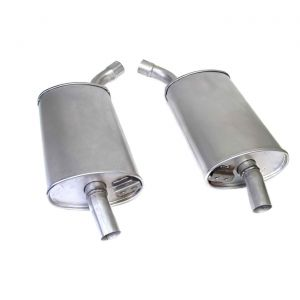 """63-67 2"""" Reproduction Oval Mufflers (Default)"""