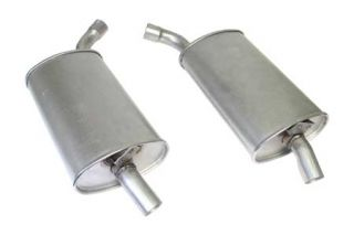 """68-72 2 1/2"""" Reproduction Oval Mufflers (Default)"""