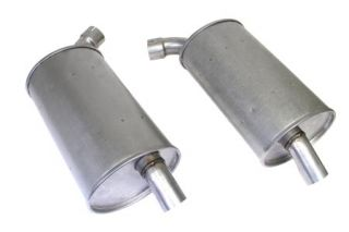 """73 2"""" Reproduction Round Mufflers (Default)"""