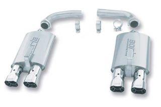 84-91 Borla S-Type Mufflers w/ZR1 Style Tips