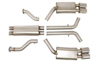 """90-91 LT5 BBE 3"""" Tri-Flo Exhaust System"""