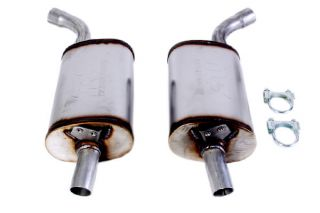 "68-72 2 1/2"" Magnaflow Aluminized Mufflers"