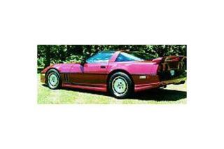 1991-1996 Corvette Aerotech Side Skirts (Door & Quarter)
