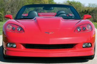 2005-2013 Corvette Front Fiberglass Spoiler