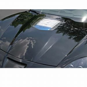2005-2013 Corvette ZR1 Replica Hood w/Clear Window (RTM)