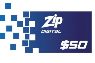 $50 Zip Gift Card - Digital Version