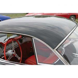 1961-1962 Corvette Hardtop Side Glass - Pair (Dated)