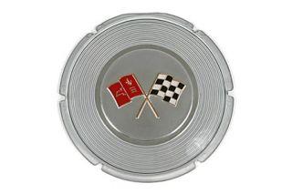 1964 Corvette Gas Door Emblem Repair Kit