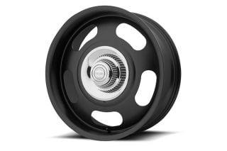 68-82 17x8 American Racing Aluminum Rally Wheel (Satin Black)