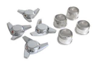 73-82 Aluminum Wheel Spinner Kit (Swept Ear)