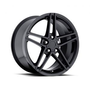 97-04 C6 Z06 Black Wheel Set (17x9.5in/18x10.5in)