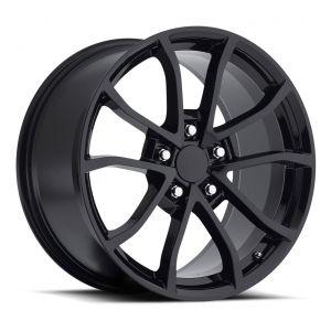 09-13 ZR1/Z06 & 15-19 Z06/GS CUP Gloss Black Wheel Set (19x10/20x12)