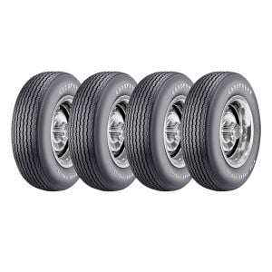 68 15 x 7 Steel Rally Wheel & Tire Package (Select Tire Application)
