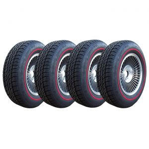 67 Bolt-On Wheel Set (Replica) & Tire Package (Select Tire Application)