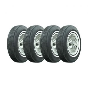 63-64 Direct Bolt Knock-Off Wheel Set (Replica) & Tire Package (Select Tire Package)