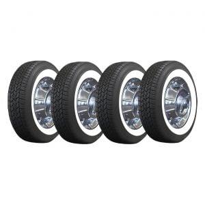 56-62 15 x 5 Steel Wheel & Tire Package (Select Tire Application)
