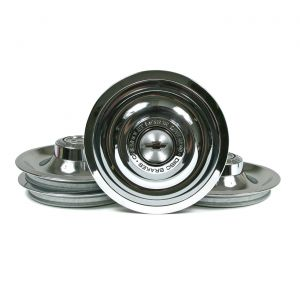 67 Rally Wheel Center Hubcap w/Ornament Cap Set (4)