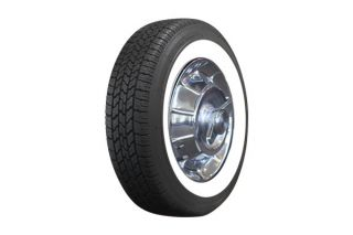 56-61 205/75R15 Classic Wide Whitewall Radial Tire