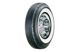 "61 670-15 Goodyear Super Cushion Tire - 2 1/4"" Whitewall"