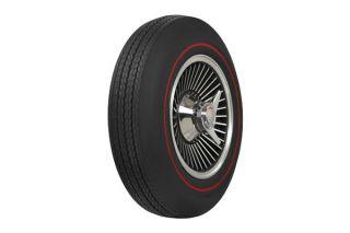 67 775-15 Firestone Tire - Redline