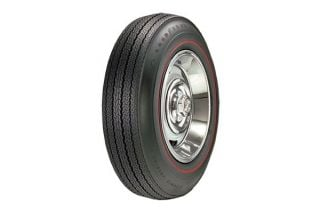 67 775-15 Goodyear Power Cushion Tire - Redline