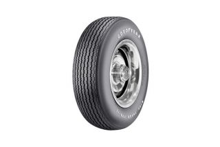 "68-72 F70-15 Goodyear ""Speedway"" Tire - Raised White Letter"