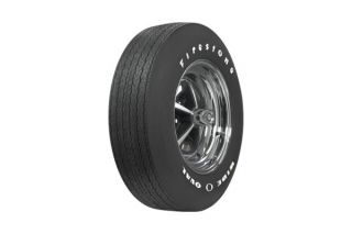 "68-72 F70-15 Firestone ""Wide Oval"" Tire - Raised White Letters"