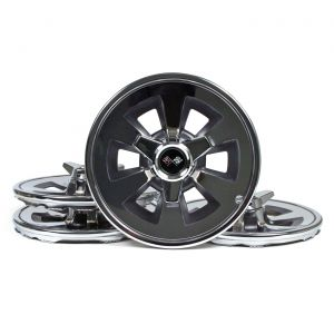 1965 Corvette Hubcap Set w/Spinners