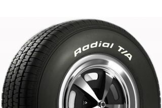 73-79 255/60-15 B.F. Goodrich Radial T/A Tire