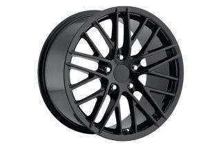 """06-13 Z06 """"ZR1 Style"""" Black Wheel Set (18x9.5""""/19x12"""")"""