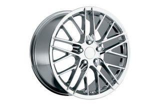 """06-13 Z06 """"ZR1 Style"""" Chrome Wheels (18x9.5""""/19x12"""")"""