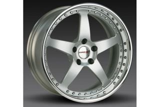 "1997-2004 Corvette Forgeline SO3P 3-Piece Premier Alloy Wheels (18""x9.5""/19""x11"")"