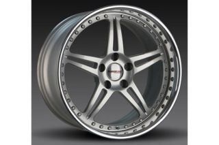 "1997-2004 Corvette Forgeline SP3P 3-Piece Premier Alloy Wheels (18""x9.5""/19""x11"")"
