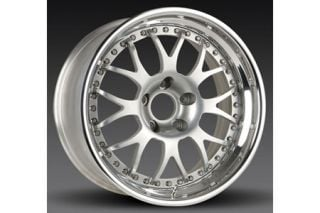 "1997-2004 Corvette Forgeline WC3R 3-Piece Competition Alloy Wheels (18""x10""/18""x12"")"