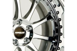 Forgeline Corvette Wheels Option A - Triple Chrome Center Wheel