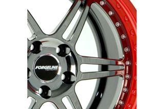 Forgeline Option A - Black Chrome Center Wheel