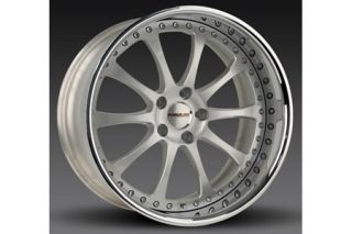 "2005-2013 Corvette Forgeline ZX3P 3-Piece Premier Alloy Wheels (19""x9.5""/20""x11"")"
