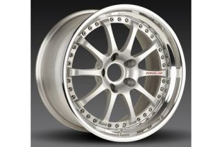 "2005-2013 Corvette Forgeline ZX3R 3-Piece Competition Alloy Wheels (18""x10""/18""x11"")"