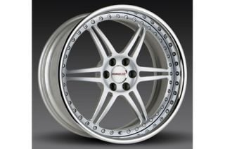 "2006-2013 Corvette Z06/ZR1 Forgeline SS3P 3-Piece Premier Alloy Wheels (19""x10""/20""x12.5"")"