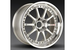 "2006-2013 Corvette Z06/ZR1 Forgeline ZX3S 3-Piece Competition Alloy Wheels (19""x10""/20""x12.5"")"