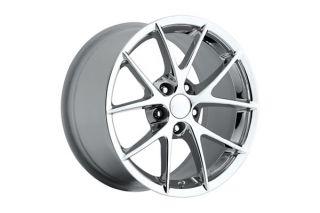 """06-13 Z06 Spyder Chrome Wheel Set (18x9.5""""/19x12"""")"""