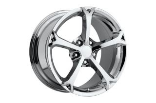 "84-87 2010 Grand Sport Chrome Wheel Set (18x9.5"")"