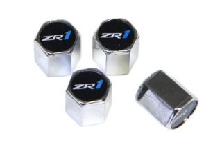 09-13 ZR1 Valve Stem Caps (Chrome) (Default)