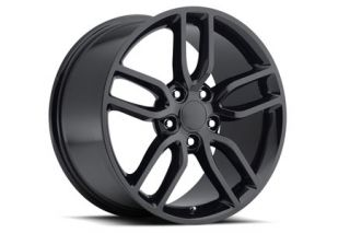 "97-04 ""Z51 Style"" Gloss Black Wheel Set (17x8.5""/18x9.5"") (Default)"