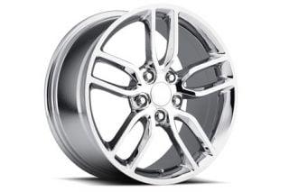 "05-18 ""Z51 Style"" Chrome Wheel Set (18x8.5""/19x10) (Default)"