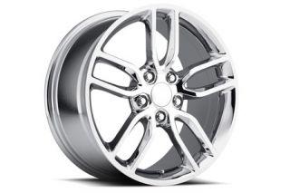 "05-18 ""Z51 Style"" Chrome Wheel Set (19x8.5""/20x10"") (Default)"