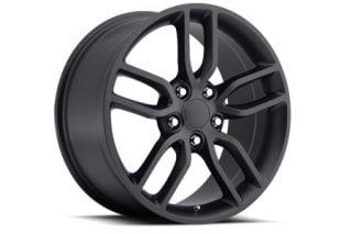 "05-18 ""Z51 Style"" Satin Black Wheel Set (19x8.5""/20x10"") (Default)"