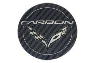 """15-18 """"Carbon"""" Wheel Center Cap (Default)"""